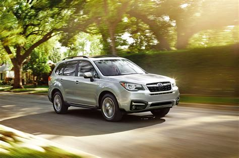 2017 subaru forester reviews and rating motor trend