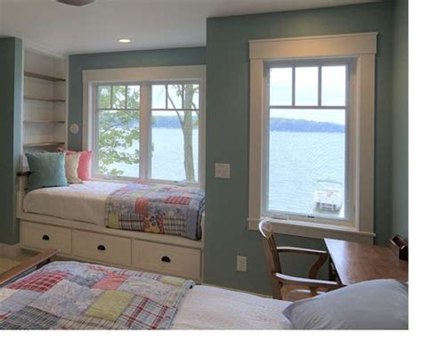 Beach Home Interior Design by Window Bed Children S Bedroom Pinterest Window Bed