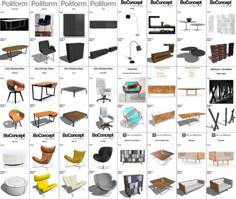 3d Warehouse Sofa Design Furniture Model Pack Sketchucation
