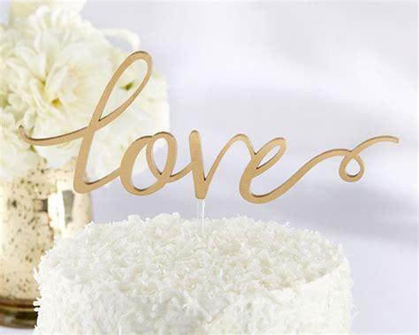 images of love engagement love gold script wedding cake topper