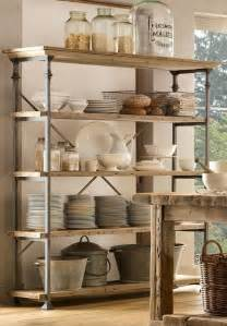 Bakers Racks For Kitchens Vintage Baker S Rack Shelving And By