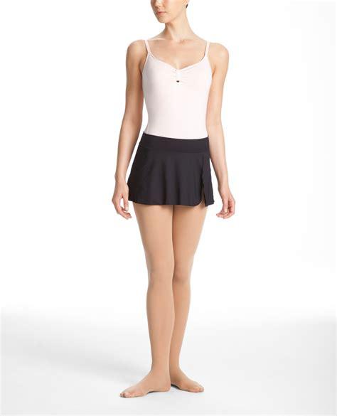 danskin s nycb solid skirt