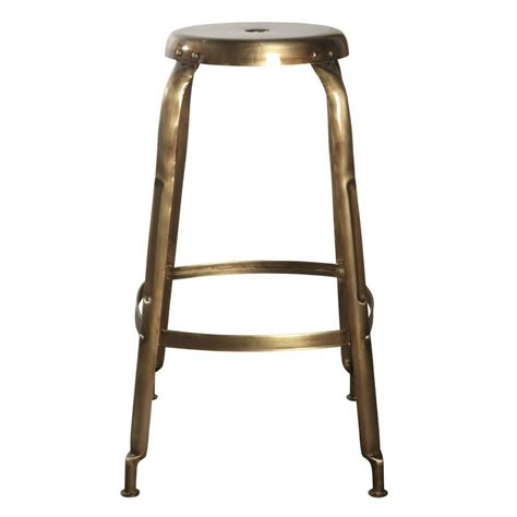 Stool Define by Housedoctor Define Bar Stools Made Of Metal Gold
