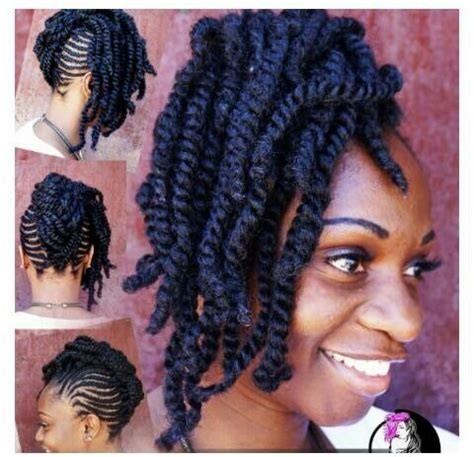 havana twist updo hairstyles 21 best rope kinky twist images on pinterest box braids