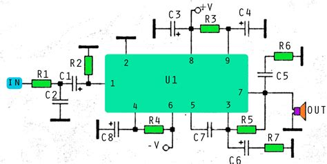 300 Watt Lifier Circuit Diagram by Car Audio Lifier Schematics Part List Car Audio Cable