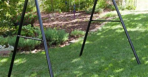 flexible flyer lawn swing frame have to have it flexible flyer metal lawn swing frame 99