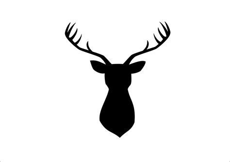 Logo Binatang Badak by Gambar Tutorial Membuat Siluet Kepala Rusa Gambar Di