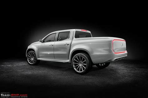 mercedes benz pick up truck diesel mercedes benz x class pick up truck concept unveiled