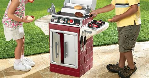 tikes backyard barbeque get out n grill w