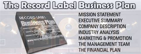 sle business plan record label record label music business plan