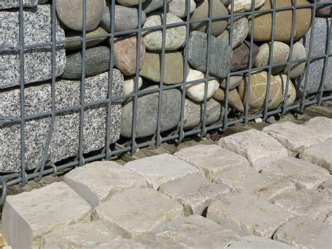 Wie Befestigt Gabionen gabionen befestigen 187 so halten am besten