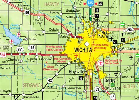 wichita kansas file map of sedgwick co ks usa png wikimedia commons