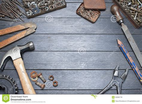 work bench tools industrial workbench tools background stock photo image