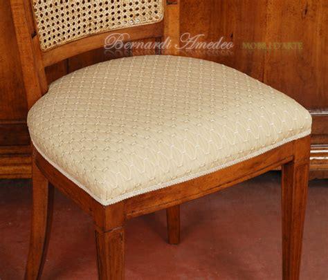 tappezzeria per sedie sedie e poltroncine in noce sedie poltroncine divanetti