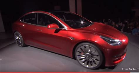 Low Cost Tesla Tesla Model 3 Unveiled Today Despite Cost Cuts Still