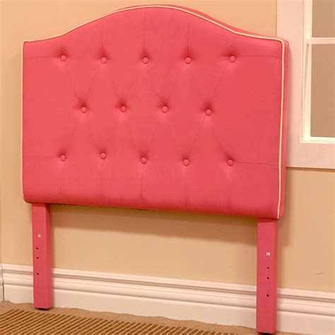 overstock headboard pink fabric twin size headboard contemporary
