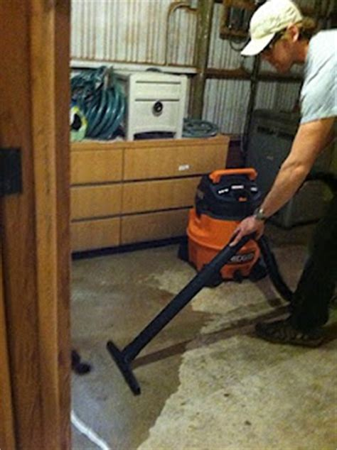 removing water from basement shop vac for water damage water damage mold removal