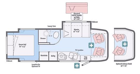 24 foot motorhome floor plans 24 foot motorhome floor plans 2017 winnebago view 24g cing
