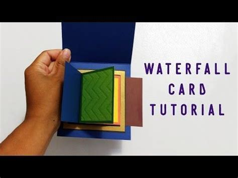 Mini Waterfall Card Template by Best 25 Waterfall Cards Ideas On
