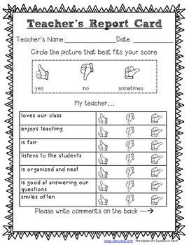 image result for student report card for library
