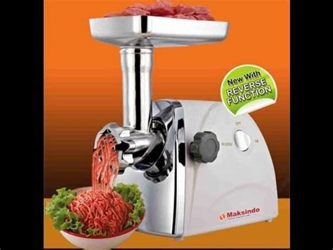 Murah Healthy Mincer Grinder Pengiling Giling Daging gilingan serbaguna pasta maker turning food center a doovi