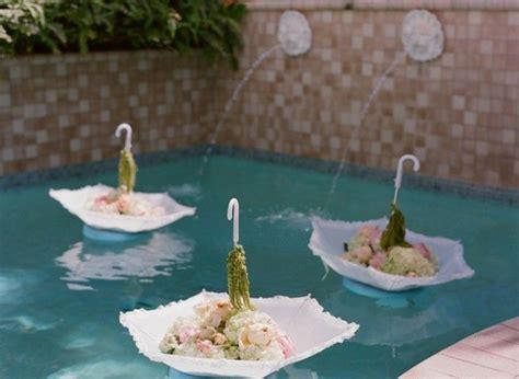 splendid floating pool decorations for wedding