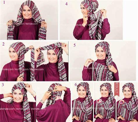 tutorial hijab segi empat simple ala zaskia sungkar modern hijab tutorial segiempat 2015 hijabiworld