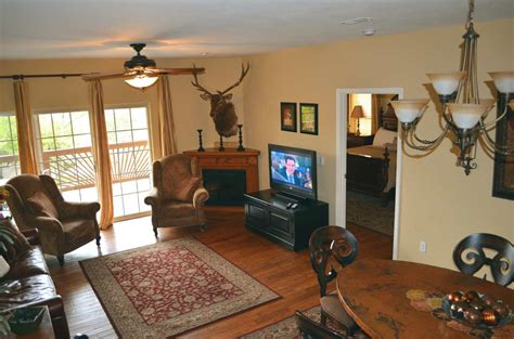 overhead of the living room in condo number 14 at
