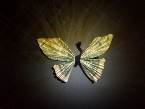 How Do You Make A Butterfly Out Of Paper - diy dollar bill butterfly