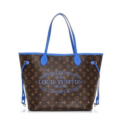 Ikat Pinggang Louis Vuitton Lv Mono Initial Belt Original louis vuitton monogram ikat neverfull mm grand bleu 191070