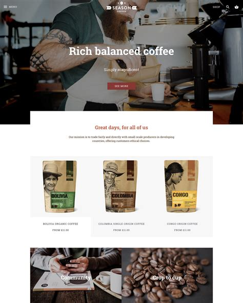 expression theme shopify shopify clean canvas