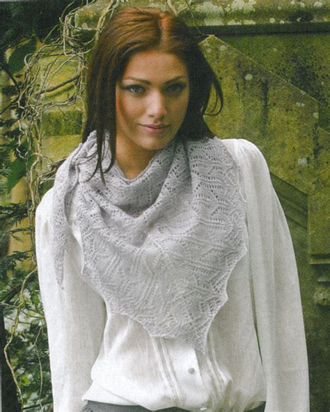 how to wear a knitted shawl camelot s embrace shawl pattern knit mag ek home