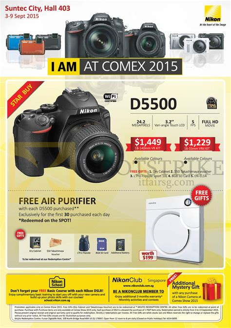 nikon digital price list comex show 2015 price list flyer prices in