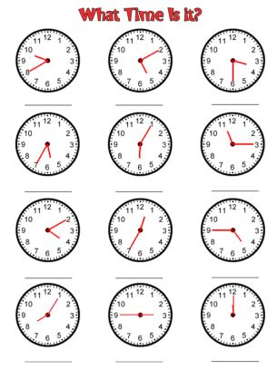 free printable clock activities clock time worksheets