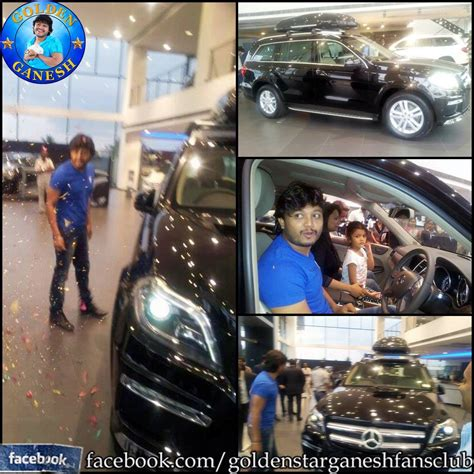kannada actor ganesh house photos kannada actor ganesh s wife gifted him a mercedes gl 350
