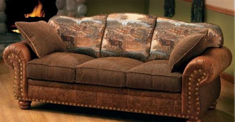 Cabin Sleeper Sofa by Cabela S Marshfield Furniture Deluxe Rustic Retreat