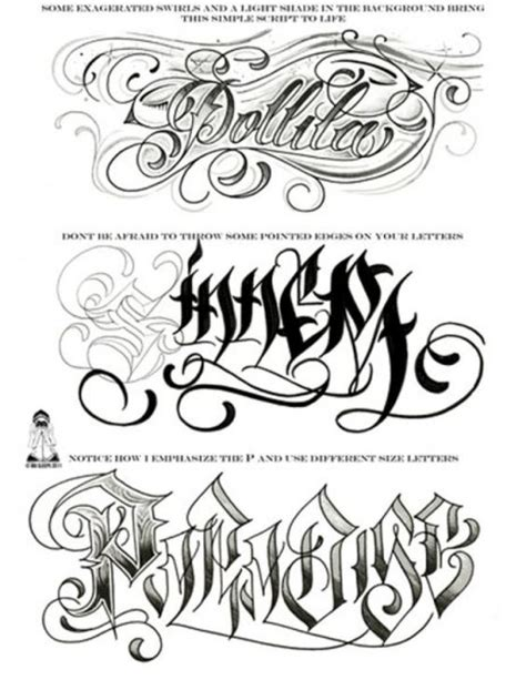 tattoo fonts joined up gangster tattoos gangster tattoo flash sheet page 3 1