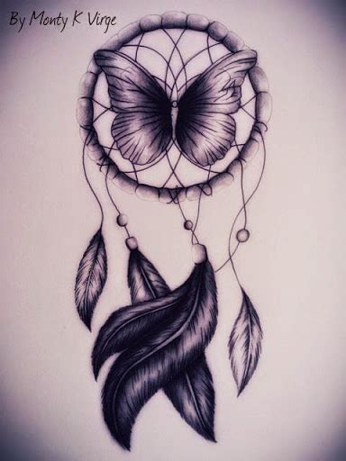 dreamcatcher tattoo with butterfly 52 dreamcatcher tattoo ideas everyone has a story to tell