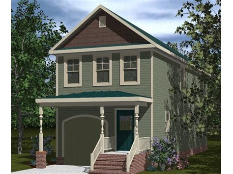 Two Story Craftsman Style House Plans narrow lot home plans affordable narrow lot house plan
