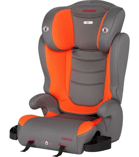 booster seat with backrest diono cambria high back booster car seat sunburst