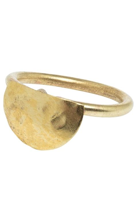 tree semi circle ring