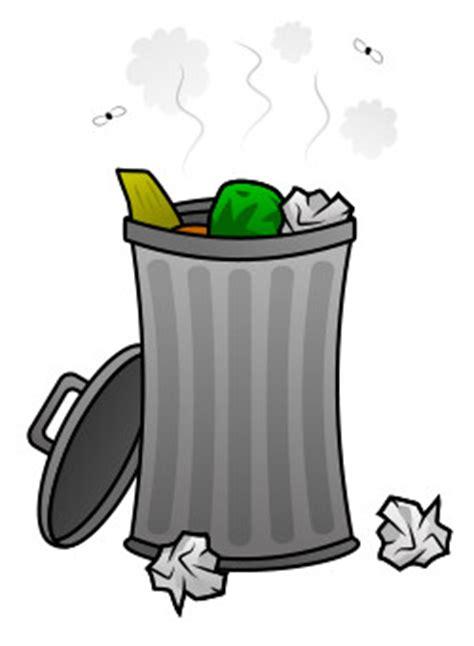 trash can drawing trash