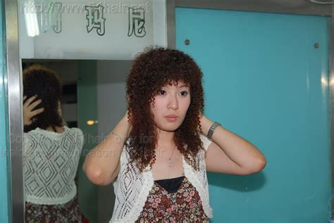 poodle perm look how to get a poodle perm 297 miss huijing a beautiful perm