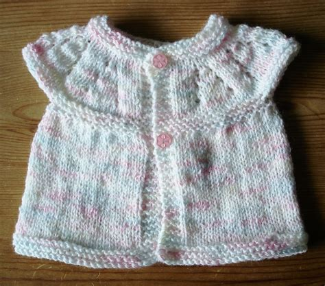 Cardi 3button marianna s lazy days all in one knitted baby tops