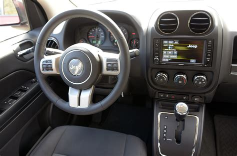 Jeep Compass Interior Pictures by 2013 Jeep Compass Review Digital Trends