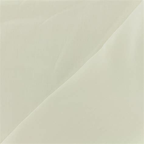 Poly Cotton Vanilla by Polycotton Voile Fabric Vanilla X 10cm