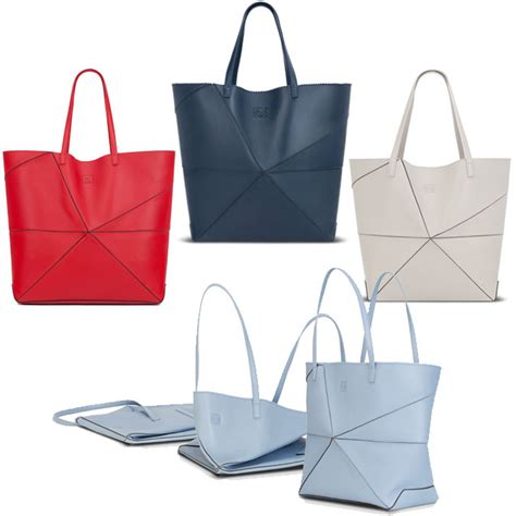 Paper Folding Bag - loewe origami bag ebb and fold snob essentials