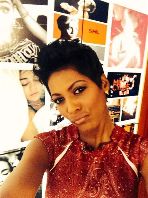 tamron hall haircut tamron hall haircut short hair don t care pinterest