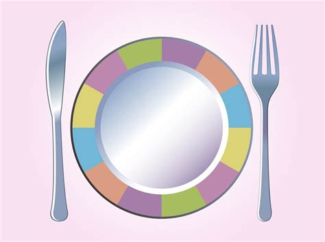 colorful plates colorful plate vector vector graphics freevector