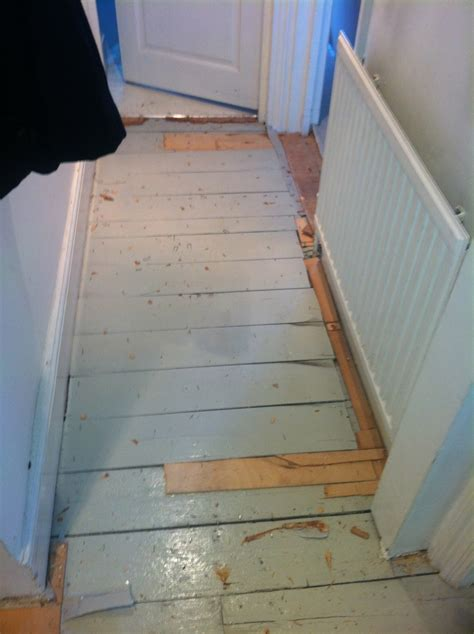 Uneven floor boards   Flooring job in Holloway, North
